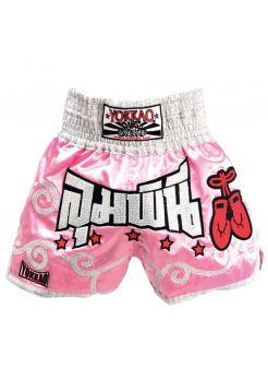 Шорты для тайского бокса Yokkao Pink Lady