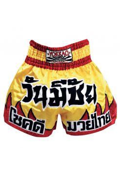 Шорты для тайского бокса Yokkao Red Flames