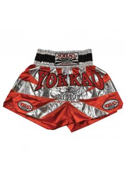 Шорты для тайского бокса Yokkao Saenchai красные