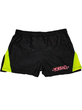 Шорты для тайского бокса Yokkao Sonic Black