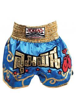 Шорты для тайского бокса Yokkao Muay Thai Stars голубые