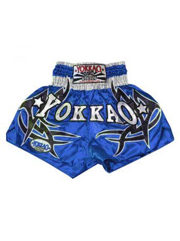 Шорты для тайского бокса Yokkao Sudsakorn Sor. Klinmee синие