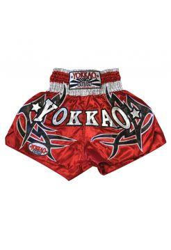 Шорты для тайского бокса Yokkao Sudsakorn Sor. Klinmee красные