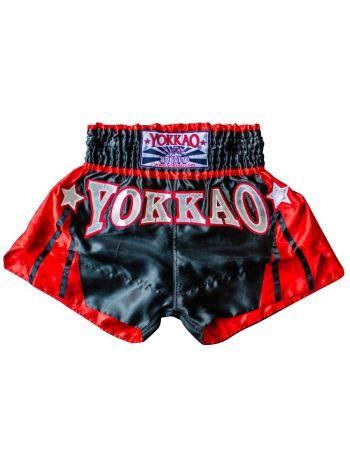 Шорты для тайского бокса Yokkao Terminator черные