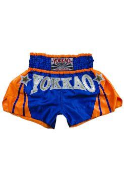 Шорты для тайского бокса Yokkao Terminator синие