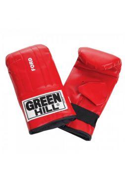 Снарядные перчатки Green Hill PUNCHING MITT FORD красные