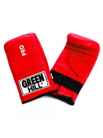 Снарядки для бокса Green Hill PUNCHING MITT PRO красные
