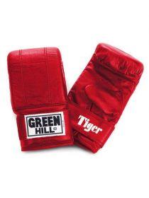 Снарядные перчатки Green Hill PUNCHING MITT TIGER красные