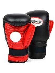 Лапы для бокса TWINS BG-7 черно-красные