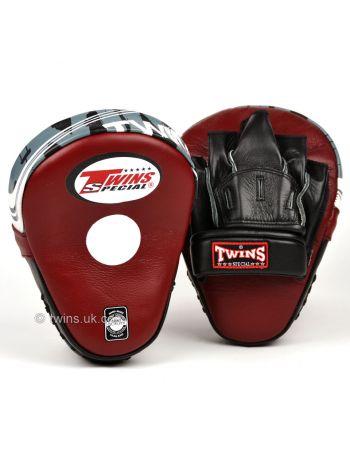 Лапы для бокса TWINS бордовые PML-10