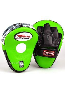 Лапы для бокса TWINS PML-10 зеленые