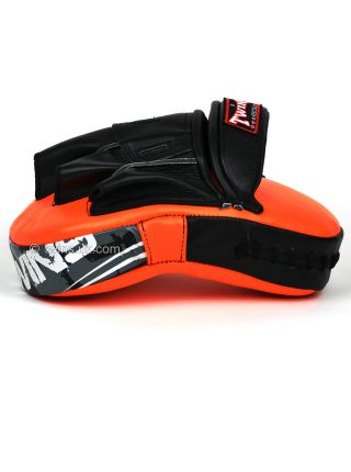 Боксерские лапы TWINS оранжевые PML-10