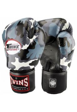 Боксерские перчатки TWINS FBGV-UG милитари