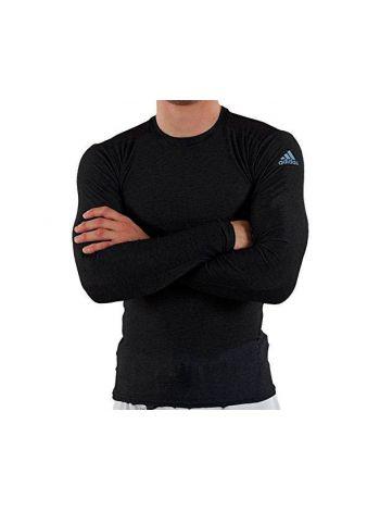 Рашгард с длинным рукавом Adidas Rush Guard Long Sleeve черный