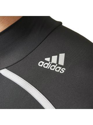 Рашгард с длинным рукавом Adidas Techfit Chill Mock Neck черный