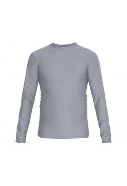 Рашгард с длинным рукавом Adidas Rush Guard Long Sleeve серый
