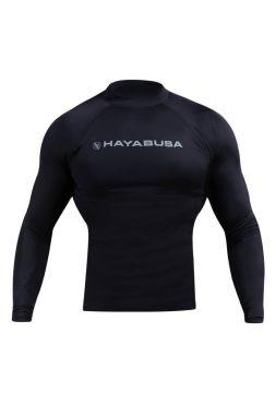 Рашгард с длинным рукавом Hayabusa Haburi черный