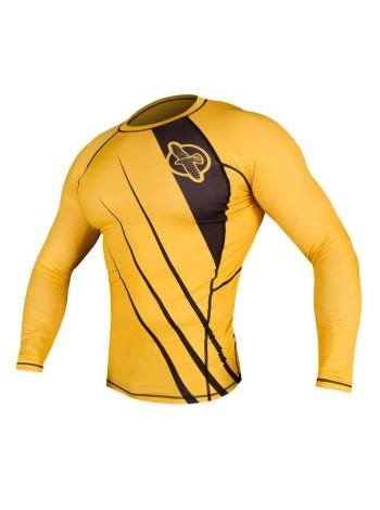 Рашгард с длинным рукавом Hayabusa Recast желто-черный