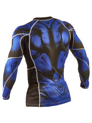 Рашгард с длинным рукавом Peresvit Beast Silver Force синий