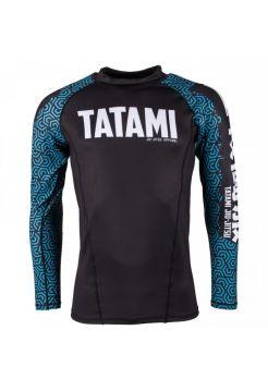 Рашгард с длинным рукавом Tatami Hive - Blue Kanji
