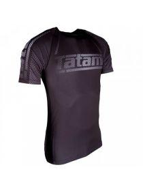 Рашгард с коротким рукавом Tatami New IBJJF Rank Short Sleeve Black