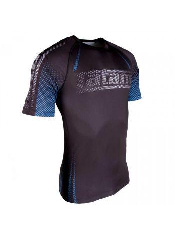 Рашгард с коротким рукавом Tatami New IBJJF Rank Short Sleeve Blue