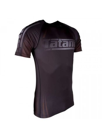 Рашгард с коротким рукавом Tatami New IBJJF Rank Short Sleeve Brown