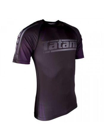 Рашгард с коротким рукавом Tatami New IBJJF Rank Short Sleeve Purple