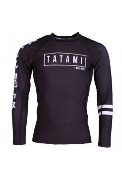 Рашгард с длинным рукавом Tatami Kanji черный