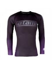 Рашгард с длинным руковом Tatami New IBJJF Rank Long Sleeve Purple