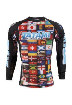 Рашгард с длинным рукавом Tatami Dean Lister Flags