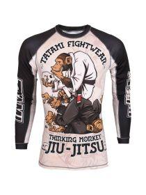 Рашгард с длинным рукавом Tatami Thinking Monkey Jiu-Jitsu