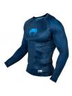 Рашгард с длинным рукавом VENUM NIGHTCRAWLER синий