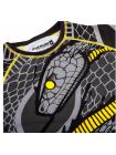Рашгард с коротким рукавом VENUM SNAKER черно-желтый