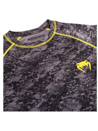 Рашгард с коротким рукавом VENUM TRAMO черно-желтый