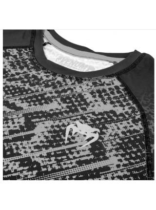 Рашгард с длинным рукавом VENUM TROPICAL COMPRESSION черно-белый