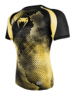 Рашгард с коротким рукавом VENUM TECHNICAL COMPRESSION черно-желтый