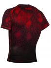 Рашгард с коротким рукавом VENUM FUSION COMPRESSION черно-красный