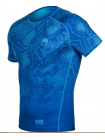 Рашгард с коротким рукавом VENUM FUSION COMPRESSION синий