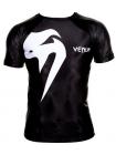 Рашгард с коротким рукавом Venum Giant черный