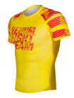 Рашгард с коротким рукавом VENUM SPEED CAMO URBAN желтый