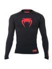 Рашгард с длинным рукавом VENUM RED DEVIL черно-красный