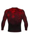 Рашгард с длинным рукавом VENUM FUSION COMPRESSION черно-красный