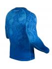 Рашгард с длинным рукавом VENUM FUSION COMPRESSION синий