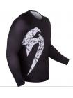 Рашгард с длинным рукавом VENUM ORIGINAL GIANT черно-белый