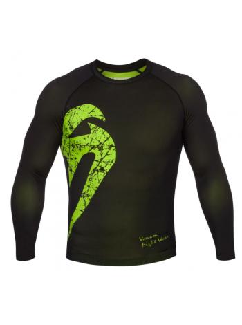 Рашгард с длинным рукавом VENUM ORIGINAL GIANT черно-зеленый