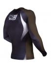 Рашгард с длинным рукавом VENUM NO GI RANKED черно-коричневый