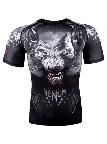 Рашгард c коротким рукавом VENUM Werewolf черный