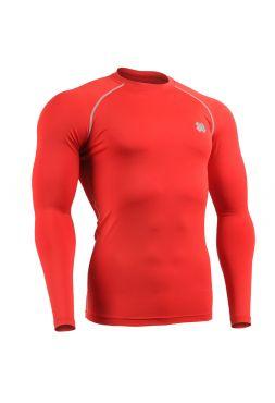 Рашгард с длинным рукавом FIXGEAR CPL-RS красный