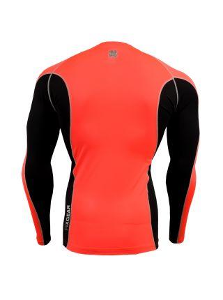Рашгард с длинным рукавом FIXGEAR FCTR-BPL оранжевый